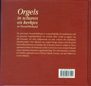 CD Orgels in schuurkerkjes b