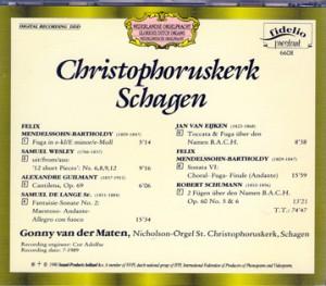 CH Chr k Schagen b