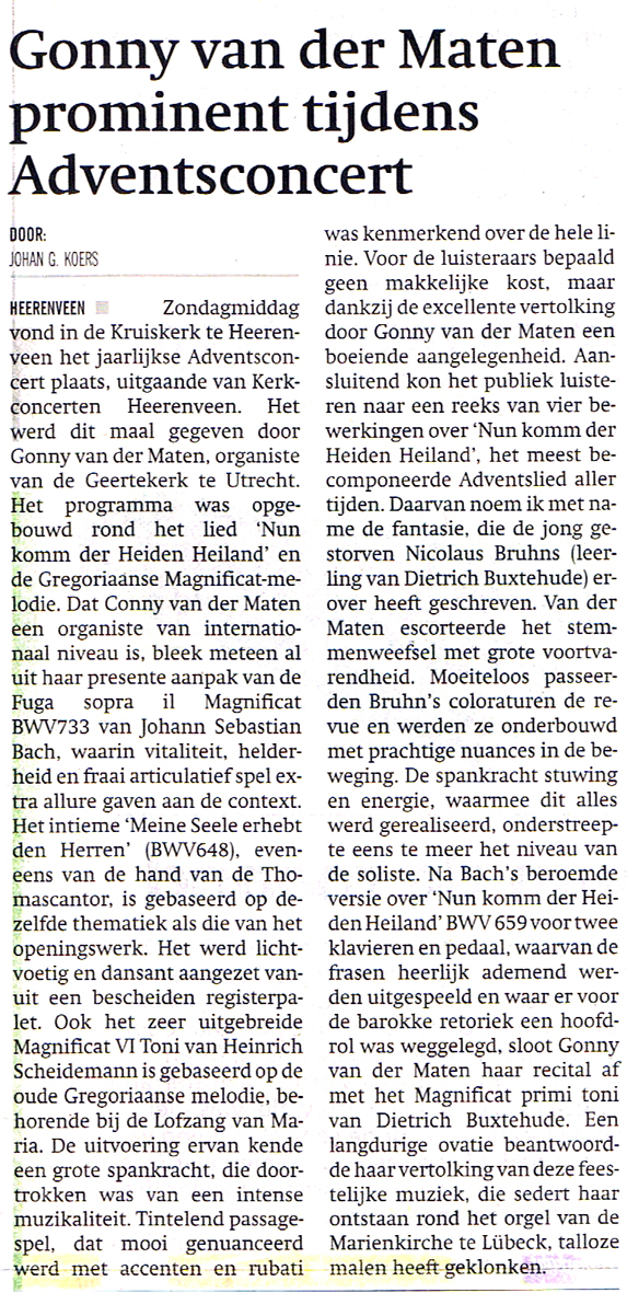 Recencie Heerenveen