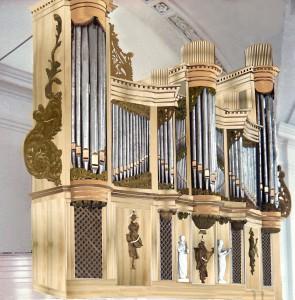 Indruk van het toekomstige orgel
